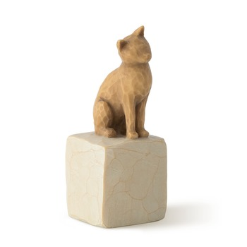 Willow Tree, Love My Cat Figurine, Resin, 3 inches