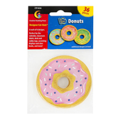 Creative Teaching Press, Mid-Century Mod Donuts Cut-Outs, 3 inches, 6 Each of 6 Designs