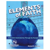 Master Books, Elements of Faith, Revised and Expanded, Paperback, 448 Pages, Grades 7-9