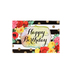 Brother Sister Design Studio, Floral Birthday Cards, 12 count
