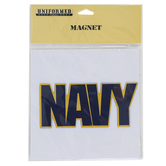 Uniformed Scrapbooks of America, Navy Magnet, Flexible, 5 x 2 Inches