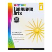 Carson-Dellosa, Spectrum Language Arts Workbook, Paperback, 200 Pages, Grade 4