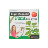 Learning Resources, Giant Magnetic Plant Life Cycles Set with Activity Guide, 12 Pieces, Grades K and up