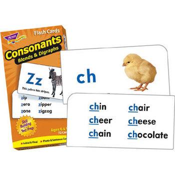 Consonants Flash Cards