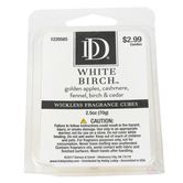 White Birch Wickless Fragrance Cubes, White, 2 1/2 ounces