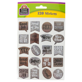 Teacher Created Resources, Home Sweet Classroom Stickers, Multi-Colored, Pack of 120