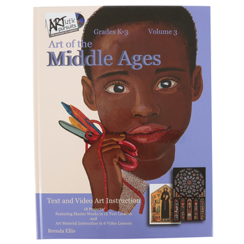 ARTistic Pursuits, Volume 3 Art of the Middle Ages, Hardcover Book and Video Set, 18 Lessons, Grades K-3