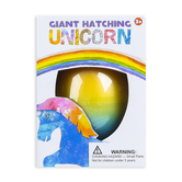 D&D Distributing, Giant Hatching Unicorn, Rainbow, 5 inches