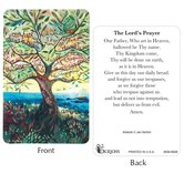 Dicksons, The Lord's Prayer Pocket Card, 2 1/2 x 3 7/8 inches