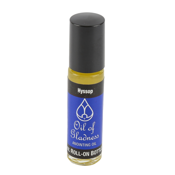 Every Good Gift, Oil of Gladness Hyssop Anointing Oil, Roll On, 1/3 Ounce