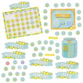 Teacher Created Resources, Lemon Zest Calendar Bulletin Board Set, 97 Pieces