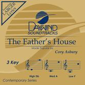 The Father's House, Accompaniment Track, As Made Popular by Cory Asbury, CD