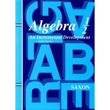 Saxon Algebra 1/2  Complete Kit