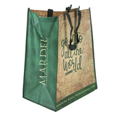 Mardel, Mark 16:15 Go Into All The World Reusable Shopping Bag, 14 x 9 x 17 inches