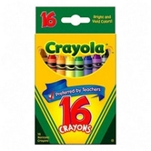 Crayola, Classic Crayons, 16 Count