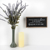 Heaven In Our Home Wall Plaque, MDF, Black & White, 6 x 12 x 3/4 inches