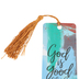 Salt & Light, God Is Good All The Time Tassel Bookmark, 2 1/4 x 7 inches