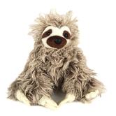 Wild Republic, Cuddlekins Three-Toed Sloth Stuffed Animal, Gray, Multiple Sizes Available
