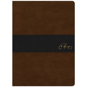 KJV Spurgeon Study Bible, Duo-Tone, Brown and Black