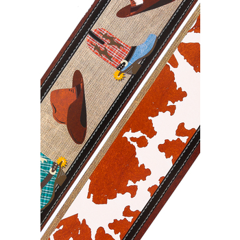 Goin' West Collection, Wide Border Trim, 38 Feet, Hats and Boots with Cowhide