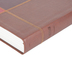 MSG The Message Large Print Bible, Duo-Tone, Brown Squares