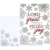 Brother & Sister Design Studio, The Lord Has Done Great Things Boxed Christmas Cards, 20 Cards