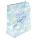 ThreeRoses, 1 Samuel 1:27 For This Child I Prayed Gift Bag, Multiple Sizes Available