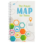 Barbour Books, The Prayer Map For Teens: A Creative Journal, White, 8 x 5 inches, 176 pages