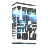 NLT Teen Life Application Study Bible, Paperback