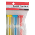 The Brainery, Sand Timers, 1-5 Minutes, Multi-Colored, 3.50 Inches, 4 Pieces, Grades PK and Older