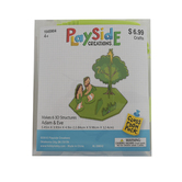Playside Creations, 3D Foam Adam and Eve Kit, Classroom Pack, Ages 4 and up