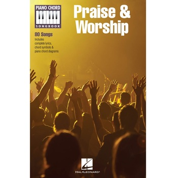 Praise & Worship Piano Chord Songbook, by Hal Leonard, Songbook