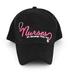 Swanson, Nurses are Blessings Baseball Cap, Pink/Black