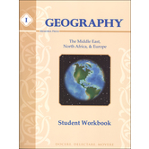 Memoria Press, Geography 1 Middle East, North Africa, and Europe Student Workbook, 105 Pages, Grades 4-7