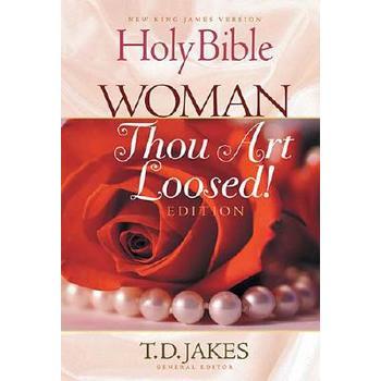 NKJV Woman Thou Art Loosed Bible, Paperback