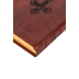 ESV Compact Bible, TruTone, Walnut, Weathered Cross Design