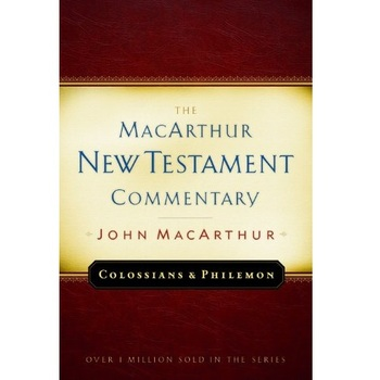 Colossians & Philemon, The MacArthur New Testament Commentary, by John MacArthur, Hardcover