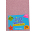 Silly Winks, Glitter Foam Sheet, 12 x 18 Inches, 1 Each, Rose Gold