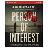Person of Interest Investigators Guide, by J. Warner Wallace, Paperback