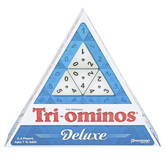 Pressman Toys, Tri-Ominos Deluxe Edition Game, 2 to 4 Players, Ages 7 & Older