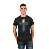 NOTW, I Love My Wife Cross, Men's T-Shirt, Black, L-2XL