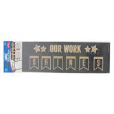 Carson-Dellosa, Sparkle and Shine Super Star Student Work Mini Bulletin Board Set, 35 Pieces