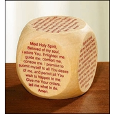 Autom, Confirmation Prayer Cube, Wood, 1 5/8 inches