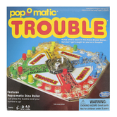 Winning Moves Games, Trouble Board Game, Ages 5 & Older, 2-4 Players