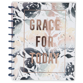 MAMBI, The Happy Planner Grace for Today Notebook, 11 x 8 1/2 Inches, 60 Pages
