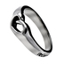 Spirit and Truth, Trust in the Lord With All Your Heart,  Proverbs 3:5, Mini Heart Ring, Silver Plated