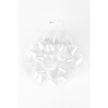Brother Sister Design Studio, Solid Lacquer Bow, White, 2 x 6 inches