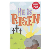 Salt & Light, He Is Risen Easter Tracts, 5 1/4 x 3 1/2 inches, Set of 50 Tracts