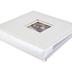 Brother Sister Design Studio, White Embossed Weave Photo Album, 9.25 x 8.50 Inches, 160 Photo Slots