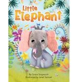 Little Elephant Finger Puppet Book, by Grace Singworth & Janet Samuel, Board Book